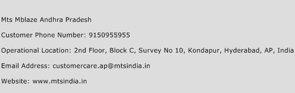 Mts Mblaze Andhra Pradesh Phone Number Customer Service