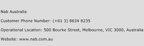 NAB Australia Phone Number Customer Service