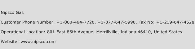 NIPSCO Gas Phone Number Customer Service