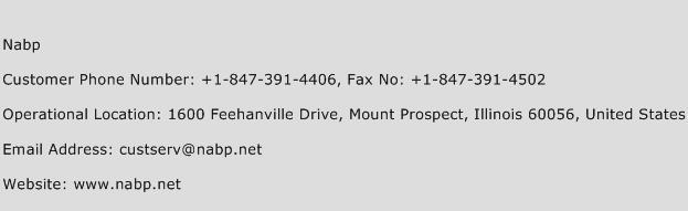 Nabp Phone Number Customer Service