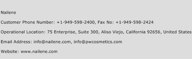Nailene Phone Number Customer Service