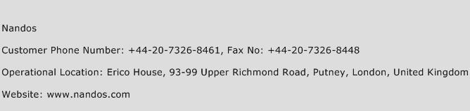 Nandos Phone Number Customer Service