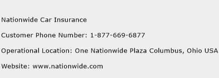 Nationwide Customer Service >> Nationwide Car Insurance Number Nationwide Car Insurance Customer
