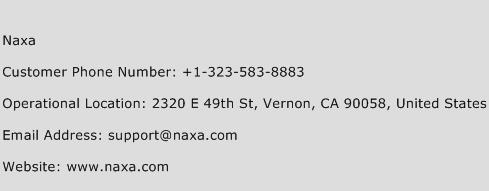 Naxa Phone Number Customer Service