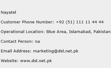 Nayatel Phone Number Customer Service
