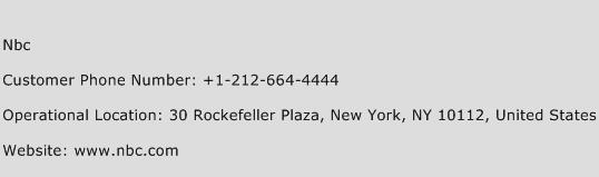 Nbc Phone Number Customer Service