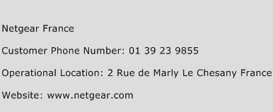 Netgear France Phone Number Customer Service