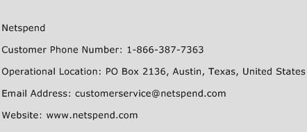 call netspend customer service