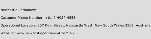Newcastle Permanent Phone Number Customer Service
