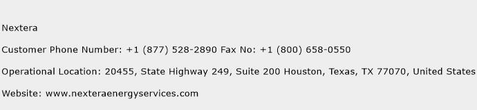 Nextera Phone Number Customer Service