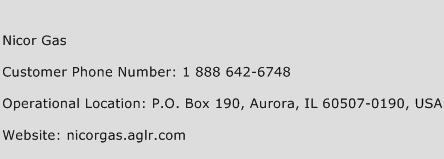 Nicor Gas Phone Number Customer Service