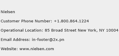 Nielsen Phone Number Customer Service