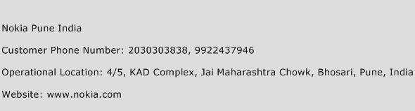 Nokia Pune India Phone Number Customer Service