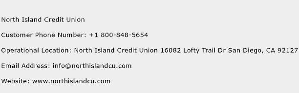 North Island Credit Union Phone Number Customer Service