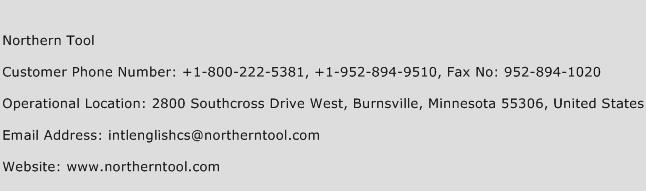 Northern Tool Phone Number Customer Service