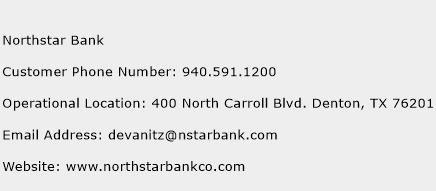 Northstar Bank Phone Number Customer Service