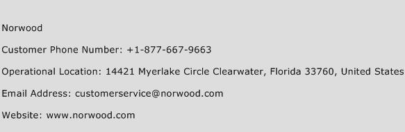 Norwood Phone Number Customer Service