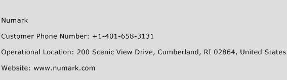 Numark Phone Number Customer Service