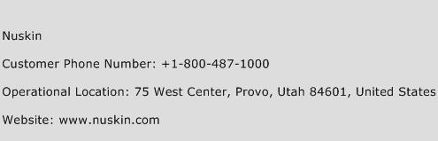 Nuskin Phone Number Customer Service