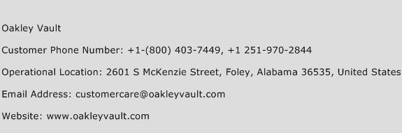 Oakley Customer Service Phone Number