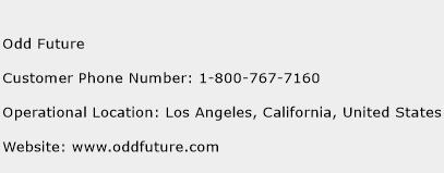 Odd Future Phone Number Customer Service