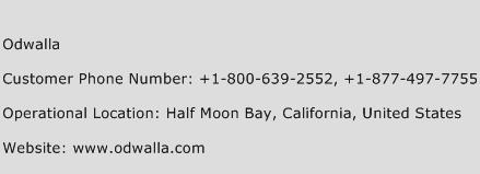 Odwalla Phone Number Customer Service