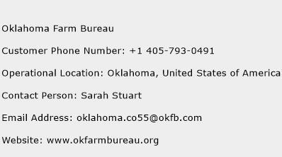 Oklahoma Farm Bureau Phone Number Customer Service