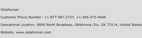 Oklahoman Phone Number Customer Service