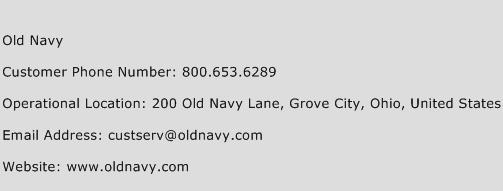 If you searching for Old Navy Customer Service Number, you are at the right place. In this post, we have provided a list of Old Navy Customer Service Phone Numbers. You can call Old Navy Customer Support the Old Navy Phone Number given here and solve your queries.