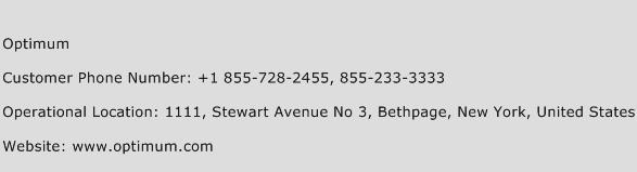 Optimum Phone Number Customer Service