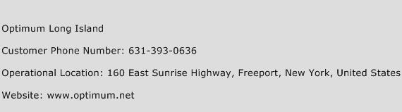 Optimum Long Island Phone Number Customer Service