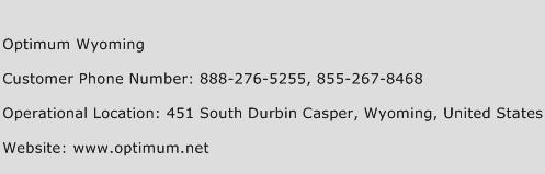 Optimum Wyoming Phone Number Customer Service