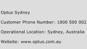Optus Sydney Phone Number Customer Service