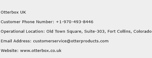 Otterbox UK Phone Number Customer Service