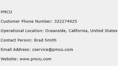 PMCU Phone Number Customer Service