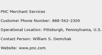 PNC Merchant Services Phone Number Customer Service