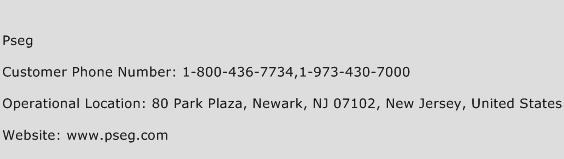 PSEG Phone Number Customer Service