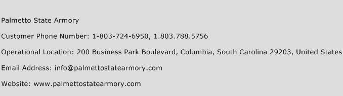Palmetto State Armory Phone Number Customer Service