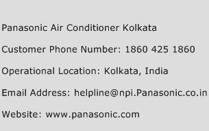 Panasonic Air Conditioner Kolkata Phone Number Customer Service