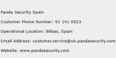 Panda Security Phone Number
