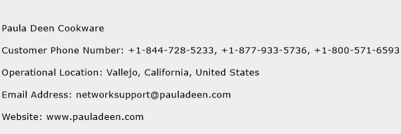 Paula Deen Cookware Phone Number Customer Service