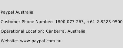 Paypal 1800 Number >> Paypal Australia Number Paypal Australia Customer Service Phone