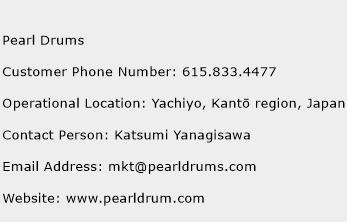 Pearl Drums Phone Number Customer Service