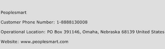 Peoplesmart Phone Number Customer Service