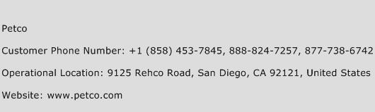Petco Phone Number Customer Service