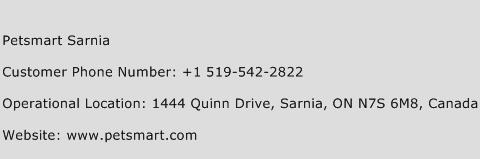Petsmart Sarnia Phone Number Customer Service
