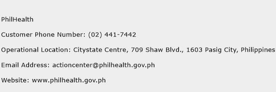 PhilHealth Phone Number Customer Service