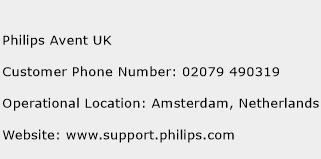 Philips Avent UK Phone Number Customer Service