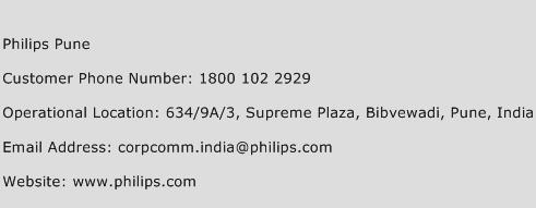 Philips Pune Phone Number Customer Service