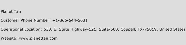 Planet Tan Phone Number Customer Service